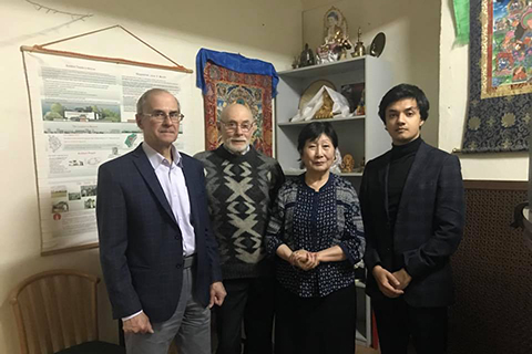 Meeting with Chairman of Moscow Buddhist community