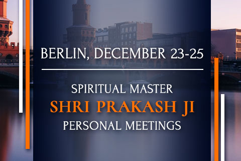 Meetings with Shri Prakash Ji in Berlin