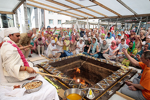 How Yagya on June, 20th has been held